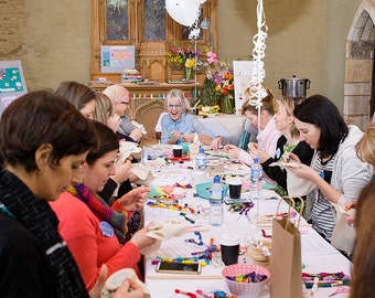 Dandelyne MINI HOOP jewellery workshop SUNDAY 11th December 1pm - 5pm