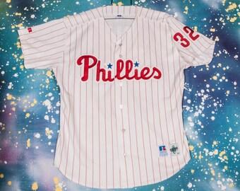 Philadelphia PHILLIES Russell Baseball Jersey #32 CARLTON Size 48