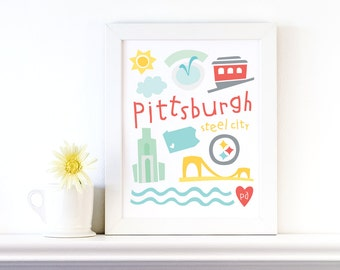 pittsburgh print