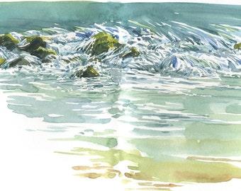 Bennett Spring Waterfall, #2