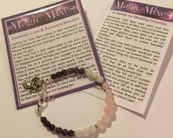 Love & Romance Gemstone Bracelet