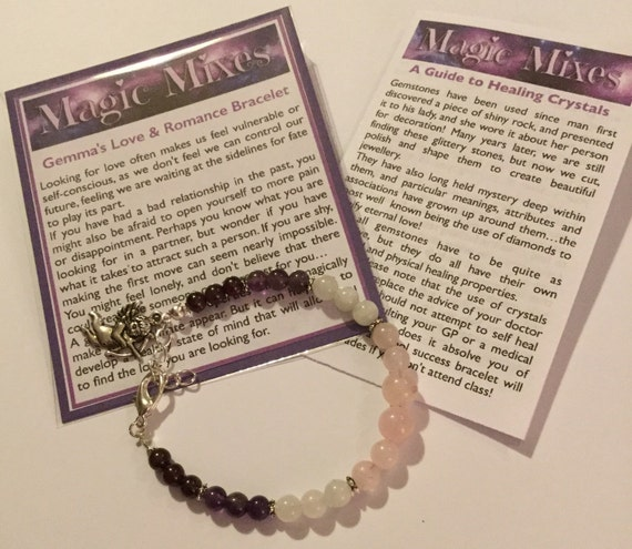 Love & Romance Gemstone Bracelet