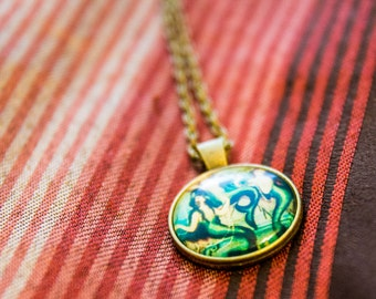 Foxy Mermaids Necklace