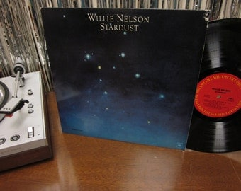 Willie Nelson - Stardust - One Of His Best Albums! - Country Essential - Vinyl LP
