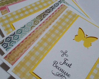 Set of 12 Assorted Note Cards