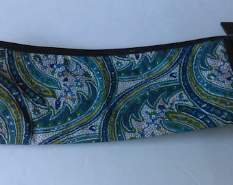 Liberty of London Blue Paisley Cosmetic Bag
