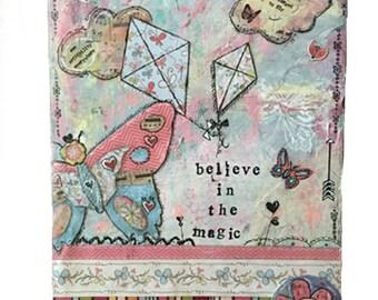 """10x13 print - """"Believe in the Magic"""" artwork"""