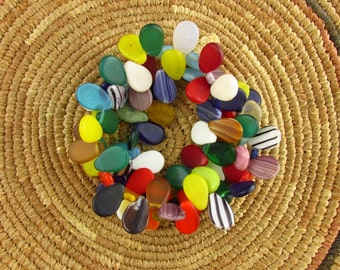 """African """"Don Don Sole"""" Wedding Beads"""