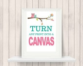 ONSALE Custom Canvas Prints - Nursery and Home Decor Canvas