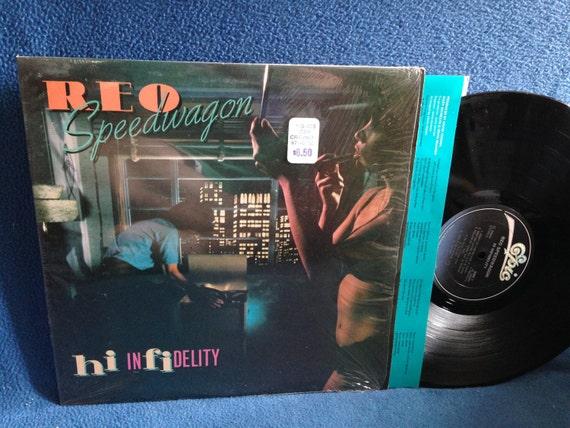 vintage reo speedwagon hi infidelity vinyl lp. Black Bedroom Furniture Sets. Home Design Ideas