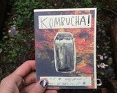 Kombucha Zine - How to brew it at home and why you should care about probiotics - a DIY guide