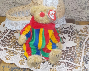 This is a 1993 Ty Beanie Baby Piccadilly Laughter has the best medicine /S :)