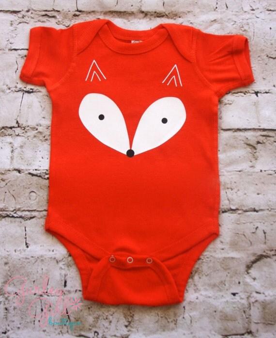 Fox Baby Clothes Halloween Bodysuit