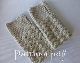 PDF Pattern - Fingerless Gloves - 4 sizes children through adult