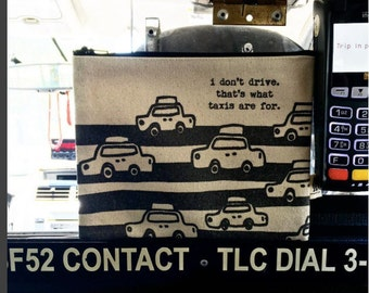 taxi cab pouch