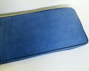 Linen Bench Cushion  1m x40 x 10cm