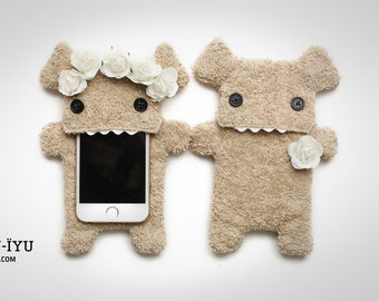 2 Fluffy Cellphone Cases - BOHO EDITION - Various Sizes