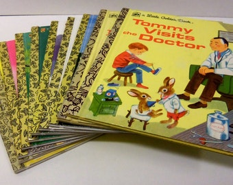 Set of Ten Classic Golden Books