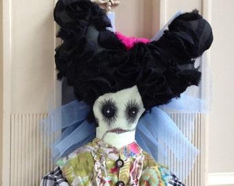 Stuffed Art Doll Zombie Doll Shabby Shriek