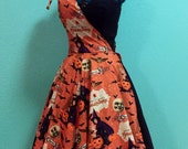 Ashleeta Dress - 1950s vintage style reproduction custom handmade