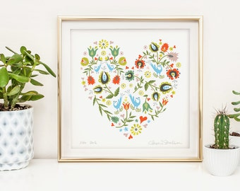 Folk Heart Series #4