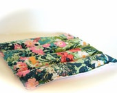 Aromatherapy Heating Pad Relaxing microwavable Spa Hot Pack Watercolor floral
