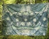 Emerald Tie Dye Tapestry