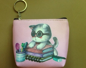 Cute Kitten Books, Catbucks Coin Purse