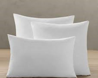 Pillow Inserts, Polyfil Synthetic Pillow Insert, Choose your size
