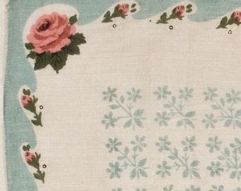Fine Linen Vintage Handkerchief