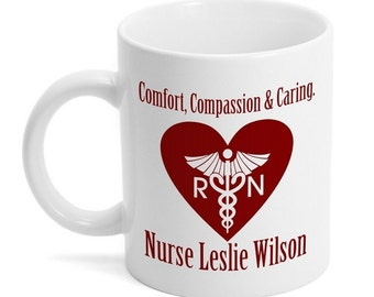 Customized Ceramic Mug for Nurses