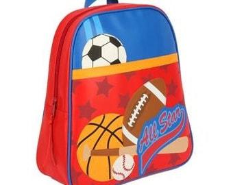 Personalized Stephen Joseph Go Go Sports Backpack