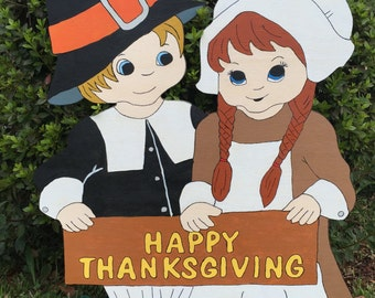 Thanksgiving Pilgrim Kids