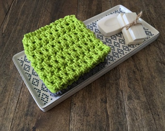 Crochet Dish Cloths set, Cotton DishCloths. Dish Rags, Wash cloth, crochet dish clothes. Hostess gift, gift for mom, stocking stuffer