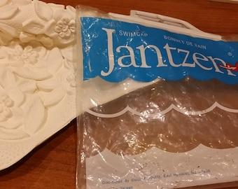 Jantzen Flower Swimcap distributed by vision products