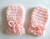 PDF CROCHET PATTERN Instant Download Baby Infant Thumbless Mittens Newborn Winter Spring  Easy to Make Adorable Cute Cozy