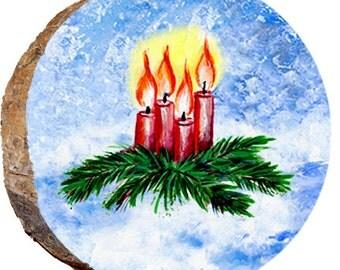 Christmas Candle Centerpiece - DX118