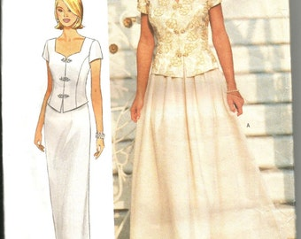 Butterick 5003 uncut size 12 - 16 womans skirt and top