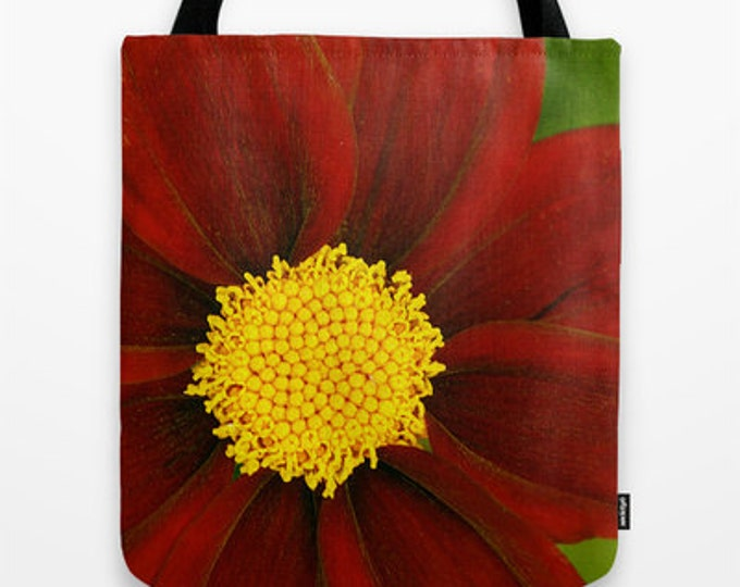 Coreopsis Mercury Rising Photo Tote Bag, Tote Bag, Reusable Bag, Flower Photography, Photography