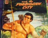 25% Off Storewide Sale 1954 TARZAN and the Forbidden City Edgar Rice Burroughs Hardcover Book