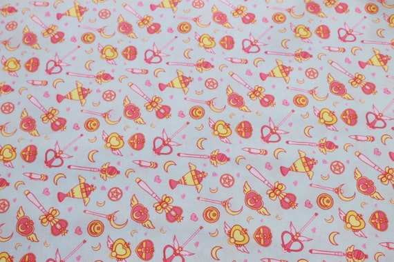 Fabric spoonflower cosmic wands fat quarter 100 cotton fabric for Cosmic print fabric