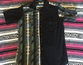 Vintage Authentic Western Youngbloods Pearl Snap Cowboy Shirt
