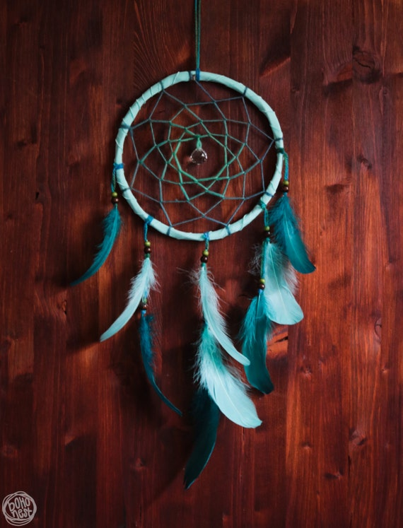 Dream Catcher Oceansea No 5 With Turquoise Frame