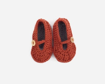 soft sole baby shoes | crochet baby shoes | mary jane shoes | girl crib shoes | baby shower gift