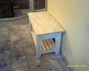 coffee table or end table pine or oak