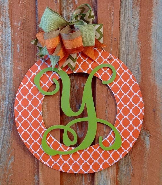 personalized door wreath wood wreath housewarming gift home