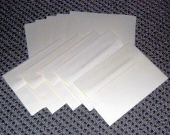 100% Recycled Paper Blank Greeting Cards and Envelopes (set of 25)