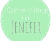 Custom size storage baskets for Jenifer