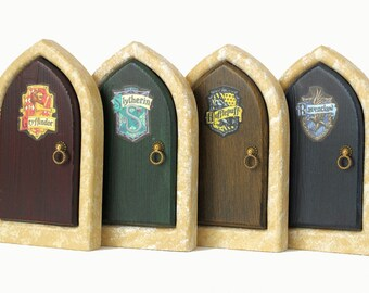 Harry Potter House Doors for Home and Garden