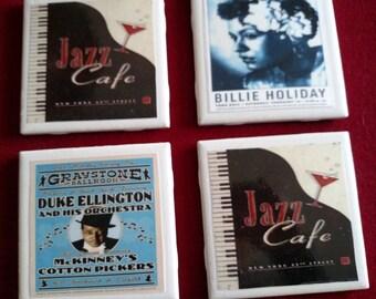 Jazz & Blues Coasters